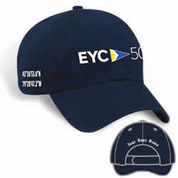 50th Anniversary Club Hat with Your Boat Name