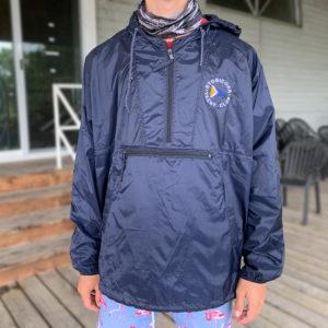 1/4 Zip Jacket, Navy - $35