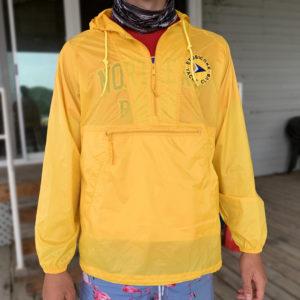 1/4 Zip Jacket, Yellow - $35