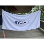 "EYC 50th Anniversary Beach Towel 34"" x 70"" - $50"