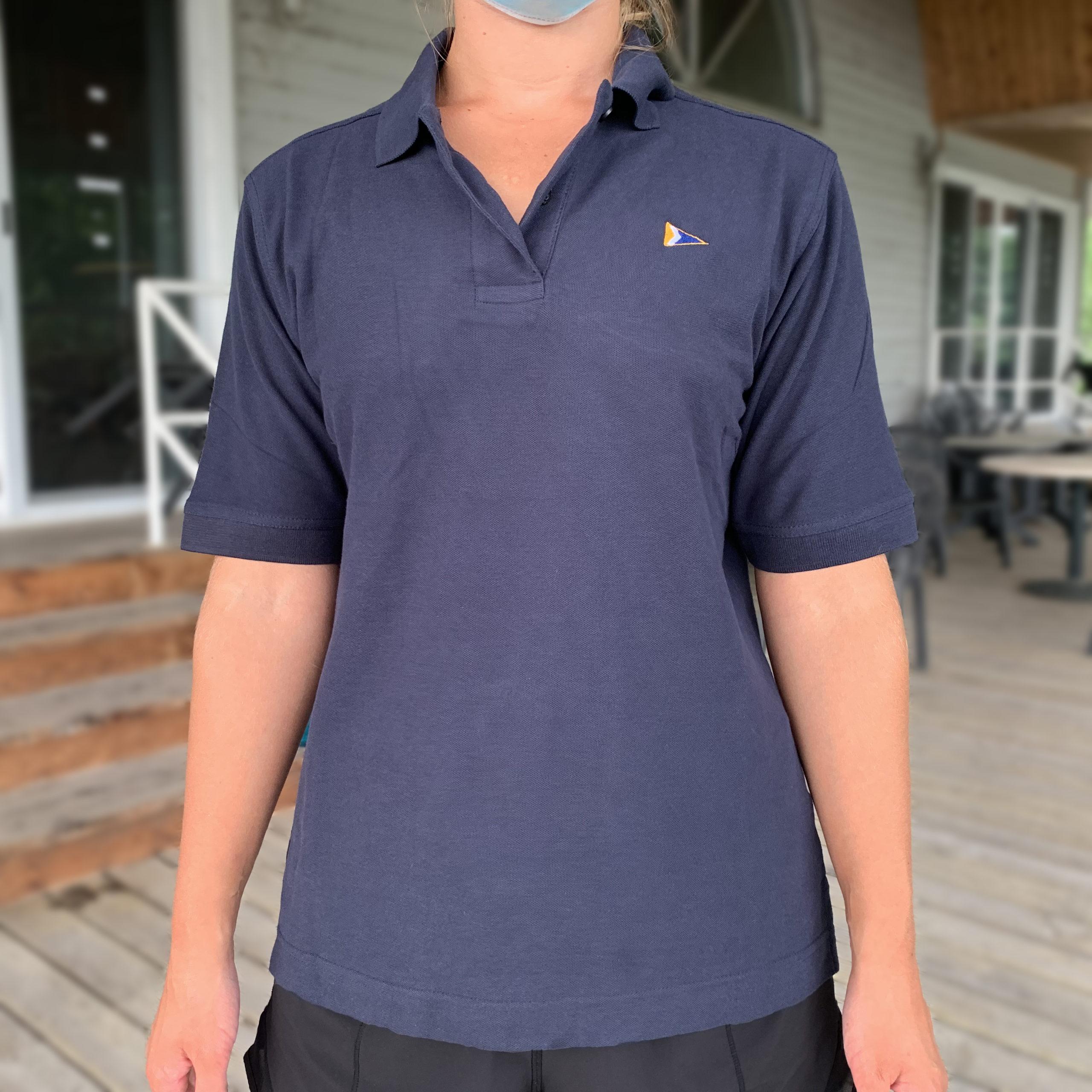 Ladies' Polo, Navy - $25