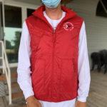 Men's Vest w/ Microfleece Lining, Red - $50
