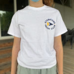 Short-sleeve Logo T-shirt, White - $15