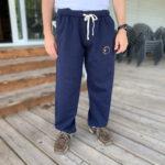 Sweatpants w/ Embroidered Logo - $50