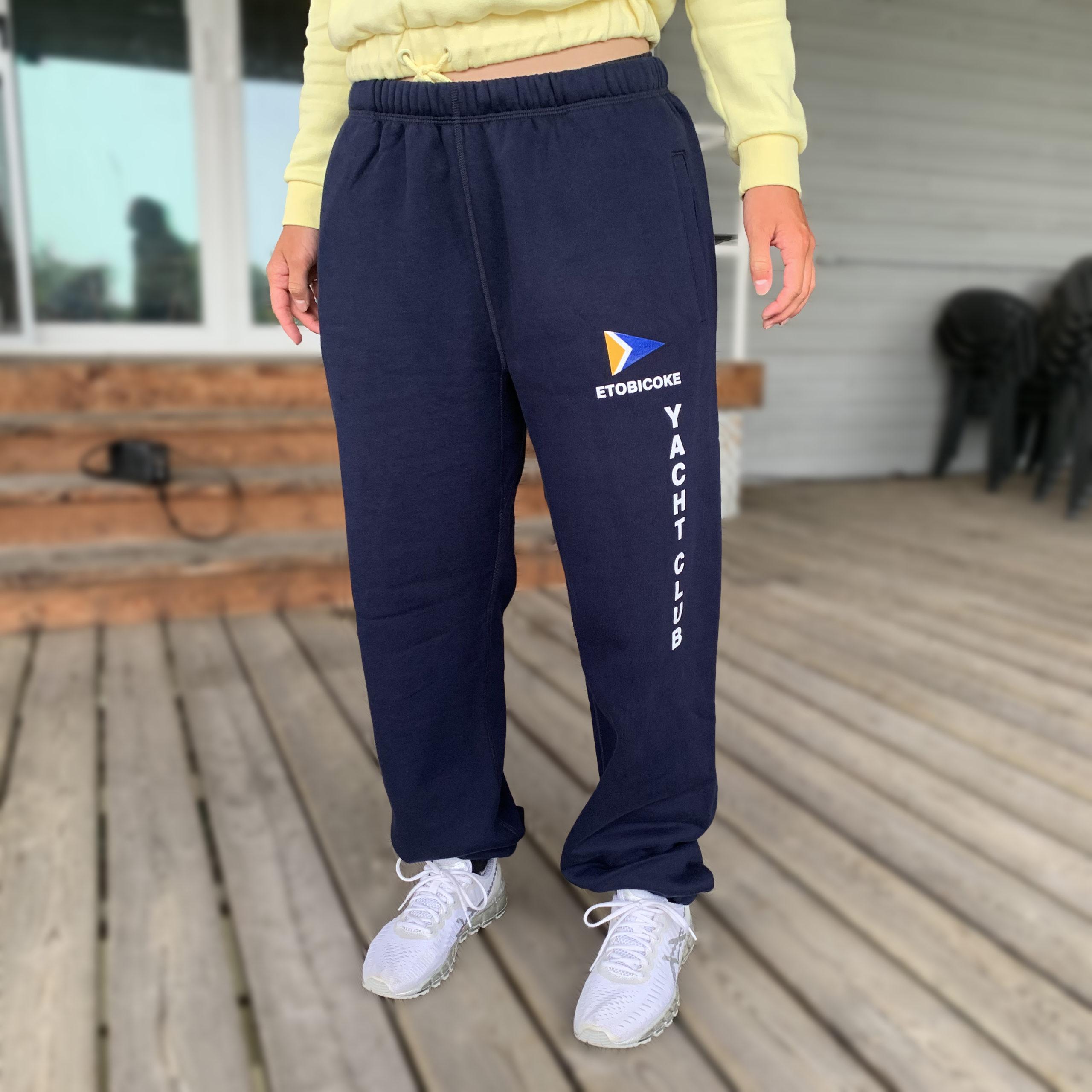 Sweatpants w/ Silkscreen Logo - $55