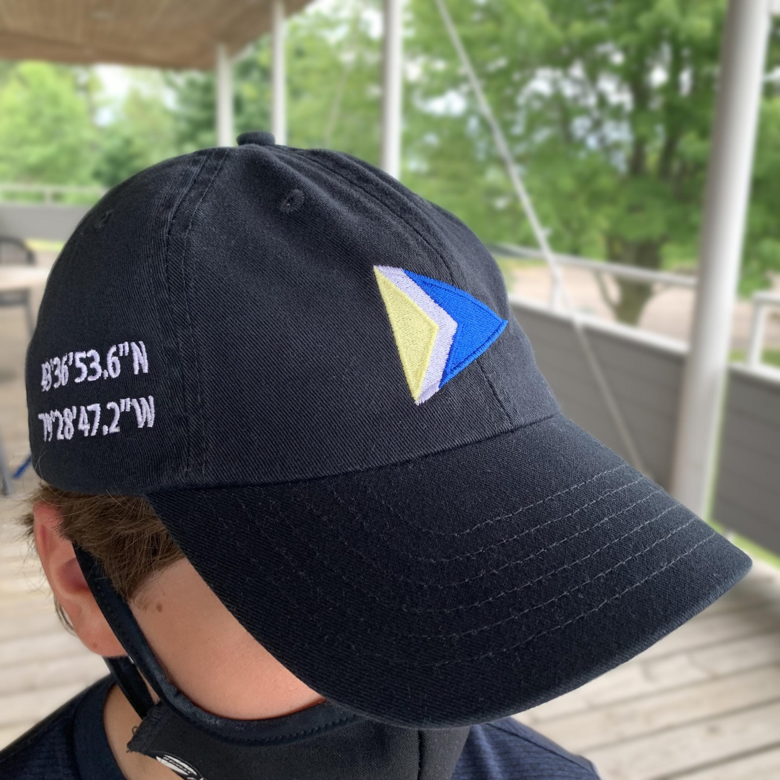 Twill Cap, Navy - $25